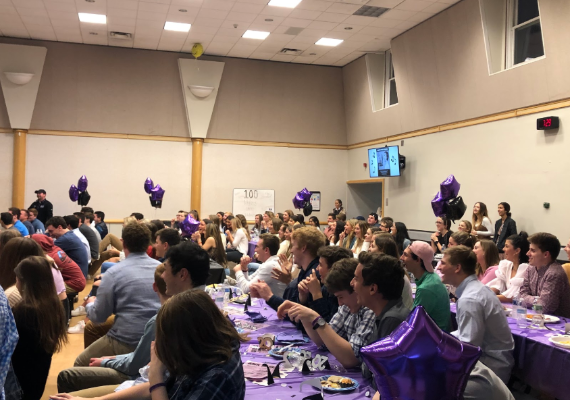 RFH Seniors Celebrate 100 Nights Dinner