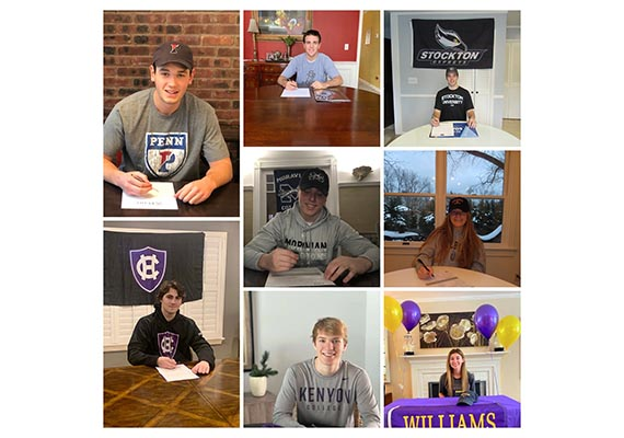 RFH Student-Athletes Make College Commitments