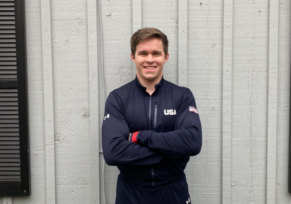 RFH Grad Charlie Volker Earns Spot on USA Bobsled Team