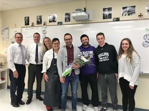 RFH Names Michael Emmich as 2019 Educator of the Year