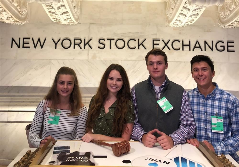 RFH Fed Challenge Students Interviewed on Modern Wall Street