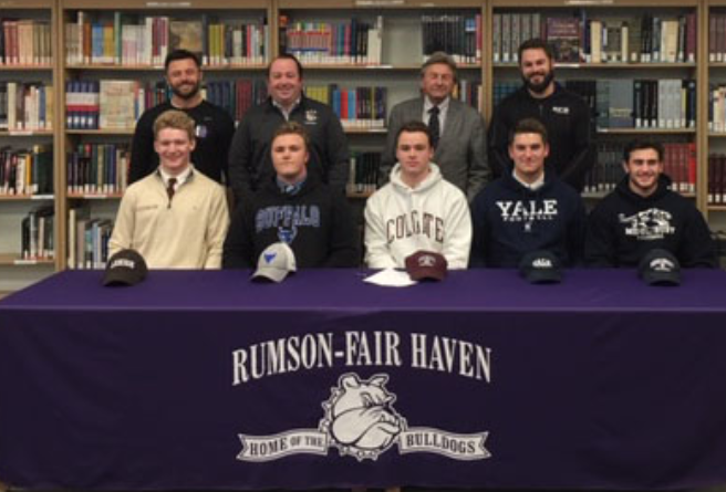 RFH Football Players Sign National Letter of Intent