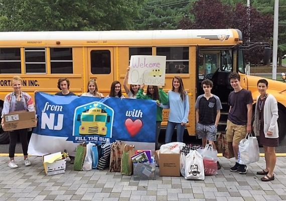 RFH Students Collect School Supplies For Hurricane Victims