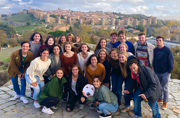 RFH students enjoyed putting their Spanish language skills to use during day trips around Spain.