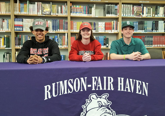 Three RFH Student-Athletes Sign Letters of Intent