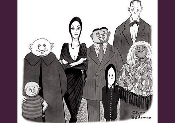 RFH Tower Players Present The Addams Family!