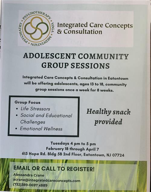 Adolescent Community Group
